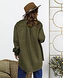 Рубашки  12267  S хаки, фото 3