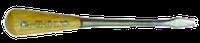 Отвертка ударная L=250мм с прямым шлицем (деревянная ручка)