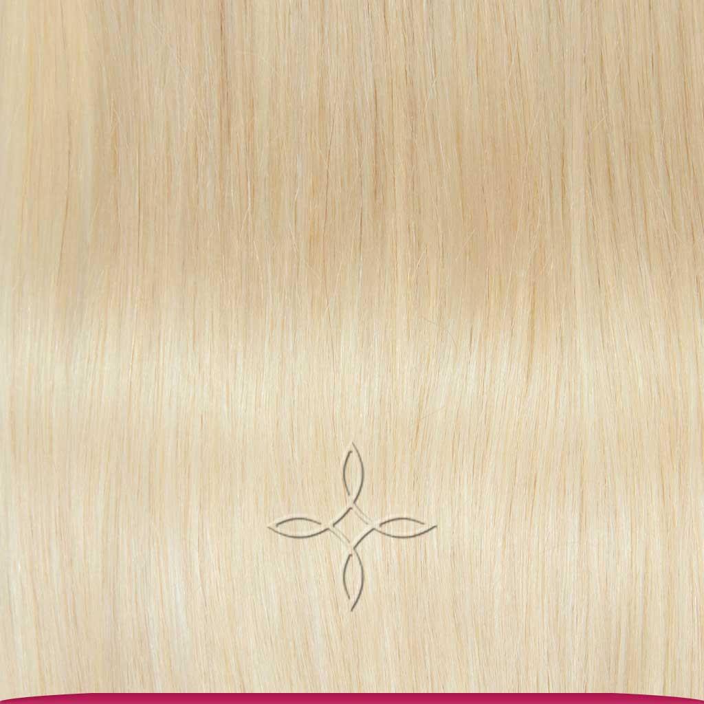 Натуральные Азиатские Волосы на Трессе 50 см 100 грамм, Блонд №60