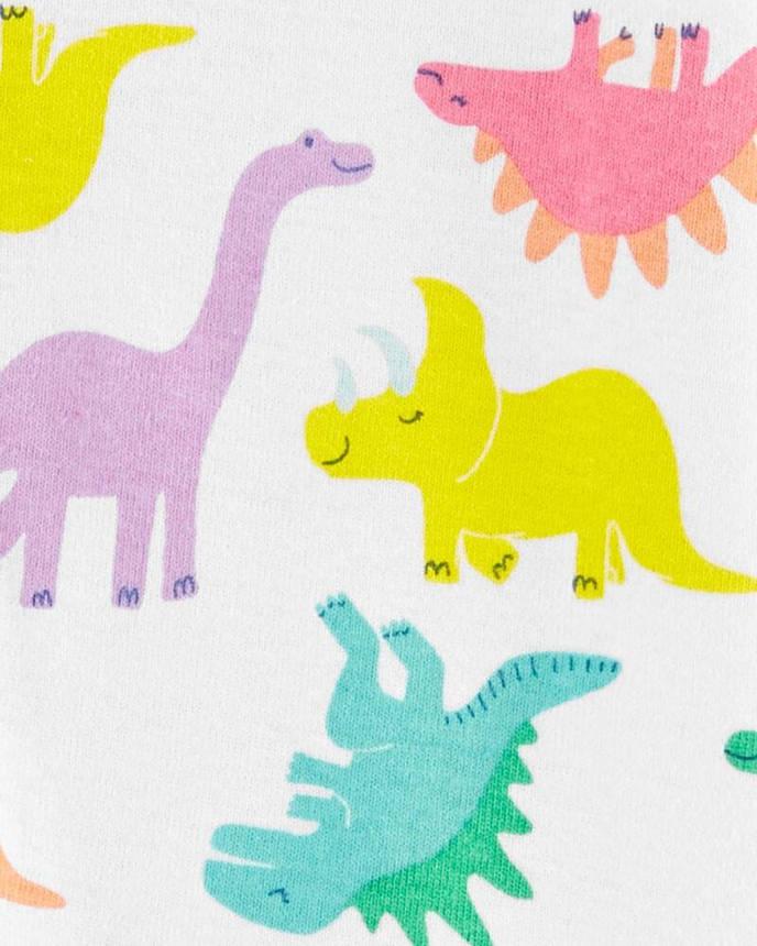 Комбінезон бавовняний принт динозаврики, фото 2