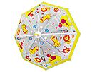 Детский зонтик трость полуавтомат с миньонами (со свистком), фото 2