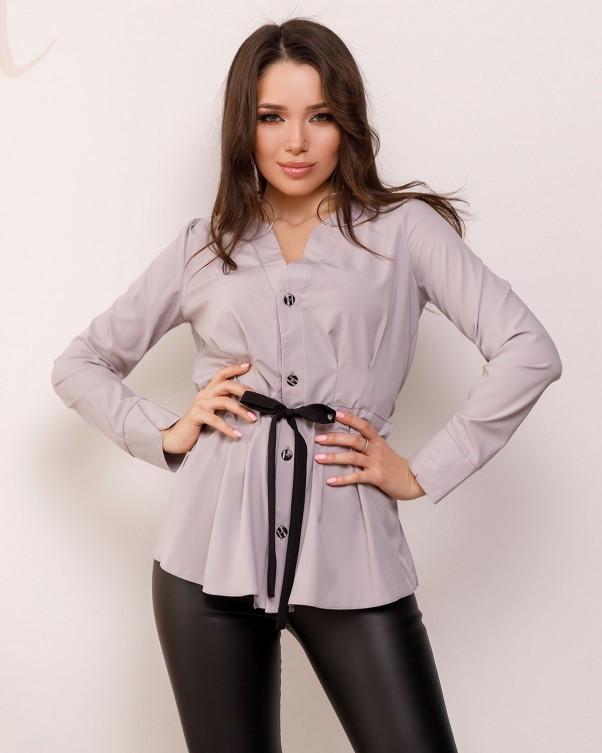 Блузи  SA-166 S сірий