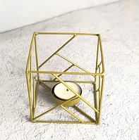 Підсвічник Куб 9.5*9.5 см 123990
