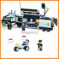 """Конструктор """"Полицейский фургон"""" 325 деталей Brick-128"""