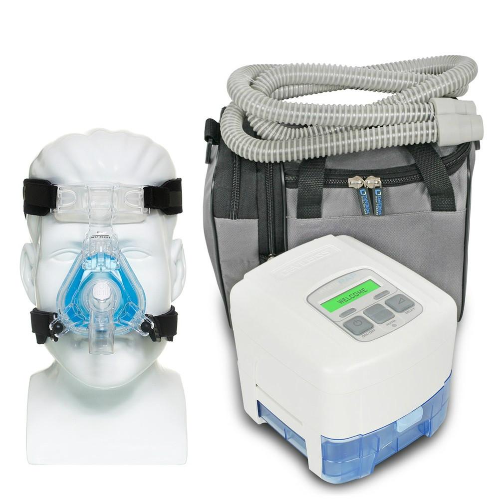 Авто СИПАП апарат + маска Auto CPAP RESMED AIRSENSE 10 AUTOSET Elite