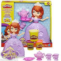 Набор пластилина Play-Doh Чайная церемония у принцессы Софии Hasbro