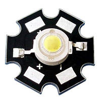 Подложка радиатор для мощных светодиодов(1W 3W 5W)