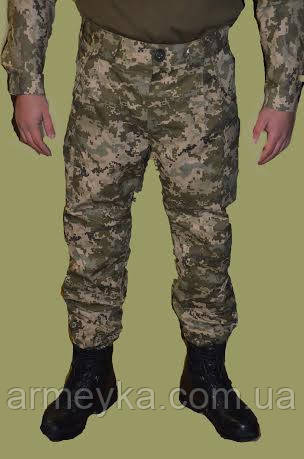 Зимние брюки полевые ВСУ в расцветке ACU PAT, ГОСТ