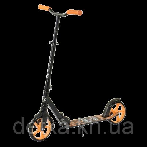 """Самокат двухколесный 45077 """"Best Scooter"""" """"WOLF"""" колеса PU - 20 см, 1 аммортизатор, в коробке"""