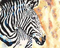 "Набор в коробке, картина по номерам ""Краски саванны"", 40*50 см., SANTI"