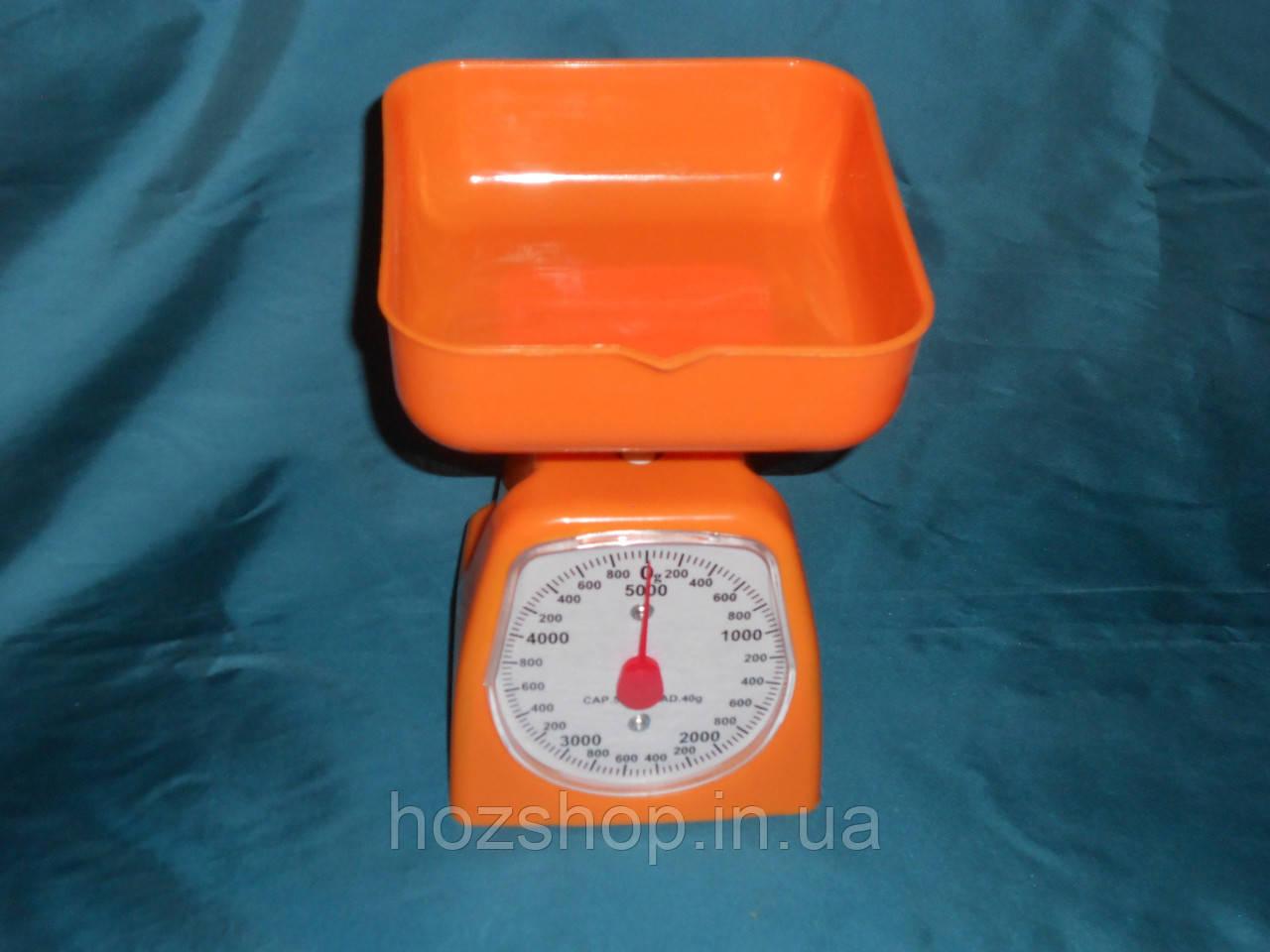 Весы с чашкой механические