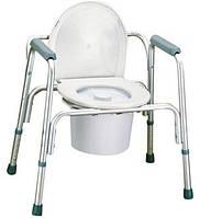 Стул-туалет 3 в 1 кресло туалетное мод.2109A, OSD Италия
