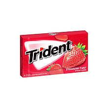 Жевательная резинка Trident Strawberry Twist Клубника, 14 шт