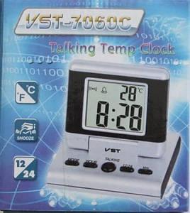 Говорящие настольные часы VST-7060C