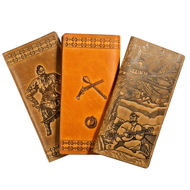 Портмоне кожаные мужские, бумажники