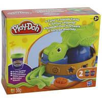 Набор для творчества Hasbro Play-Doh Пластилин Забавная черепашка (A0653E24)