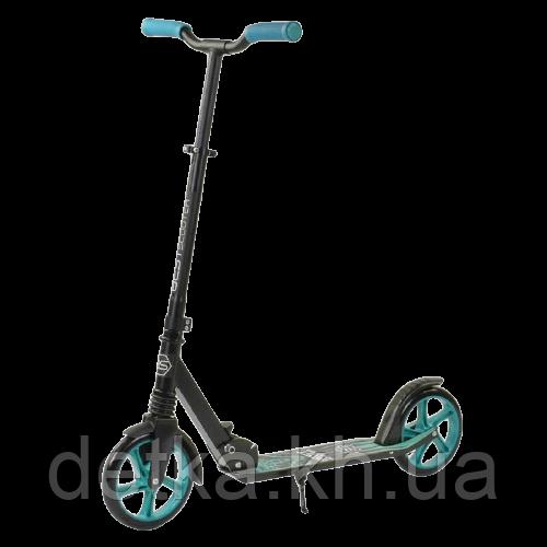 """Самокат двухколесный  """"Best Scooter"""" """"WOLF"""" 49733 колеса PU - 20 см, 1 аммортизатор, в коробке"""