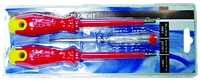 Набор отверток (3 шт) с прямым, крест. шлицем и индикатор напряжения, диэлектрические