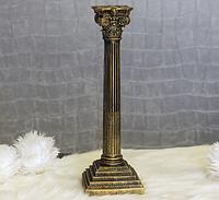 Підсвічник великий Колона бронза 40 см 84140 бронза
