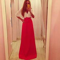 Платье в пол женское Кимоно