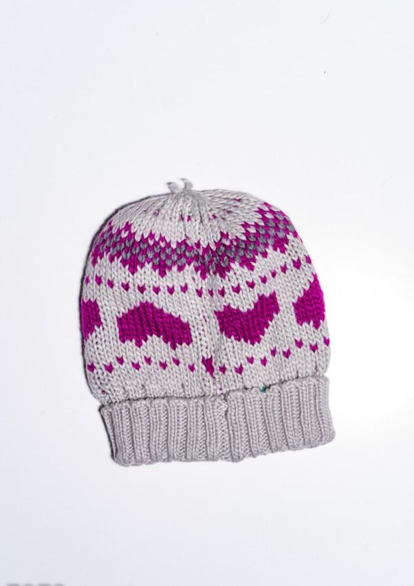 Жіночі шапки 7972 Універсальний сірий