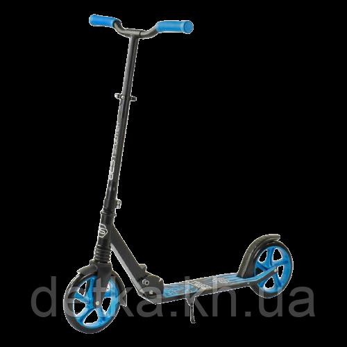 """Самокат двухколесный 76537 """"Best Scooter"""" """"WOLF"""" колеса PU - 20 см, 1 амортизатор, в коробке"""
