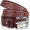 Стильный ремень мужской кожаный  MYKHAIL IKHTYAR (МИХАИЛ ИХТЯР) MI3504