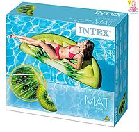"Надувной плотик Intex 58764 ""Киви"", 178 на 85 см"