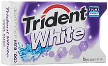Жевательная резинка Trident Cool Rush (Освежающая прохлада), подушечки 16 шт