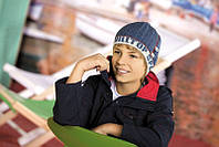 """Шапка """"Корвин"""" для мальчика (6-10) W 12-35 -54 см"""