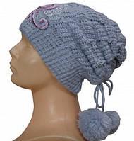 Комплект (шапка+шарф) для девочки 33