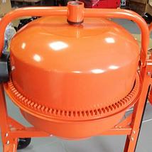 Бетономешалка электрическая Vitals Cm-180a Венцовый бетоносмеситель Ручная электробетономешалка 220 вольт, фото 3