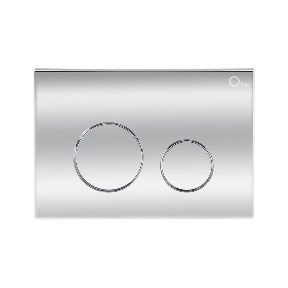 Панель смыва для унитаза Qtap Nest QT0111M11112CRM