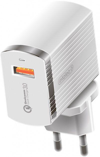 Мережевий зарядний пристрій з підтримкою Quick Charge 3.0 Intaleo TCQ431 3A White