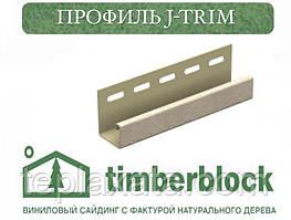 ЮПЛАСТ Тимберблок Ясен Профіль J-trim 3,05 м