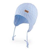 Демисезонная шапка для новорожденного мальчика TuTu 3-005669 (36-40, 40-44)