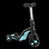 Самокат 3 в 1 Best scooter 20255 (самокат-велобег-велосипед), свет, 8 мелодий, колёса, фото 3