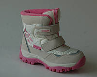Сноубутсы ботинки для девочек ТОМ.М арт.0420-С (Размеры: 26-30), фото 1
