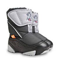 Зимние ботинки для мальчиков DEMAR. DOGGY серый