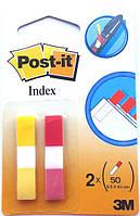 3M Post-It клейкие универсальные узкие закладки 689-RL