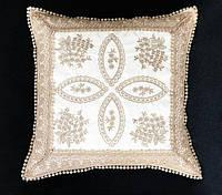 Декоративные наволочки 45х45 1шт. с вышивкой Kayaoglu Demet