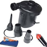 Электрический насос для матраса компрессор лодки мячей Air Pomp 207 от прикуривателя 12 Вольт