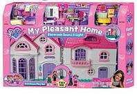 Домик с мебелью для кукол 16428