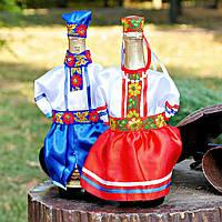 Весільний одяг на шампанське в українському стилі