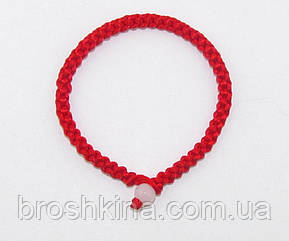 Браслет-оберег красная нить L 17 см