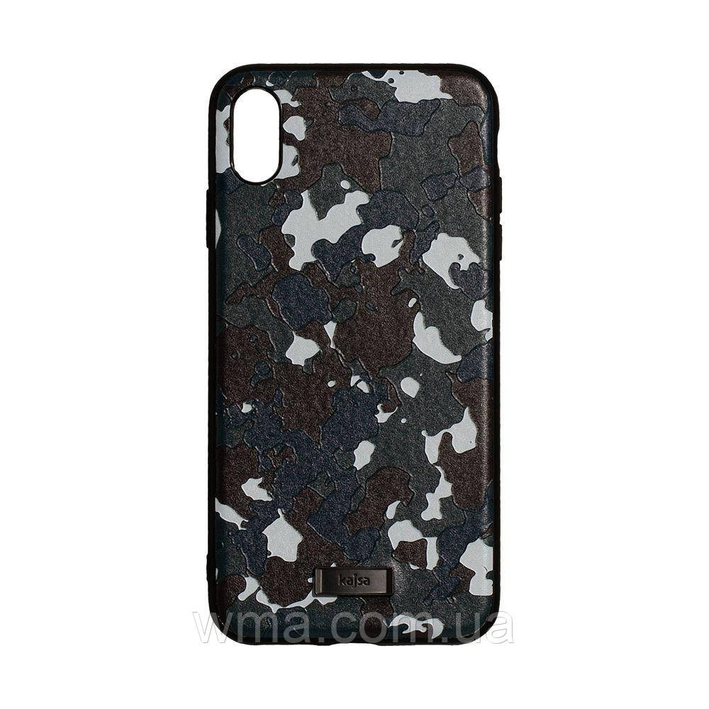 Чехол Kajsa Military for Apple Iphone Xs Max Цвет Синий