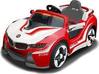 Электромобиль BMW Машина HL718 (1шт) красно-белый, 1 мотор 30W, 1 аккум 6V/7A, до 5 км/ч, БЕЗ-Р/У, откр. двери, в кор.123-68-38,5см