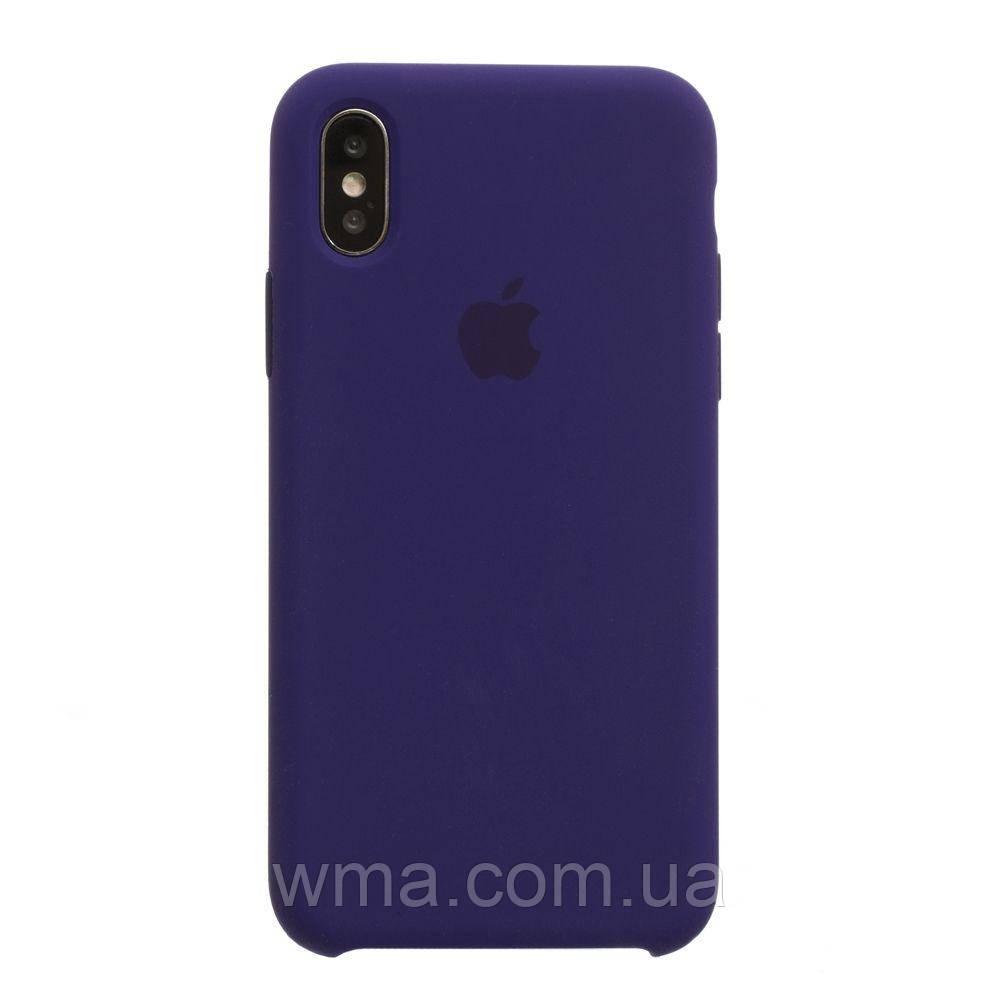 Чехол Original Iphone X Цвет Ultra Violet