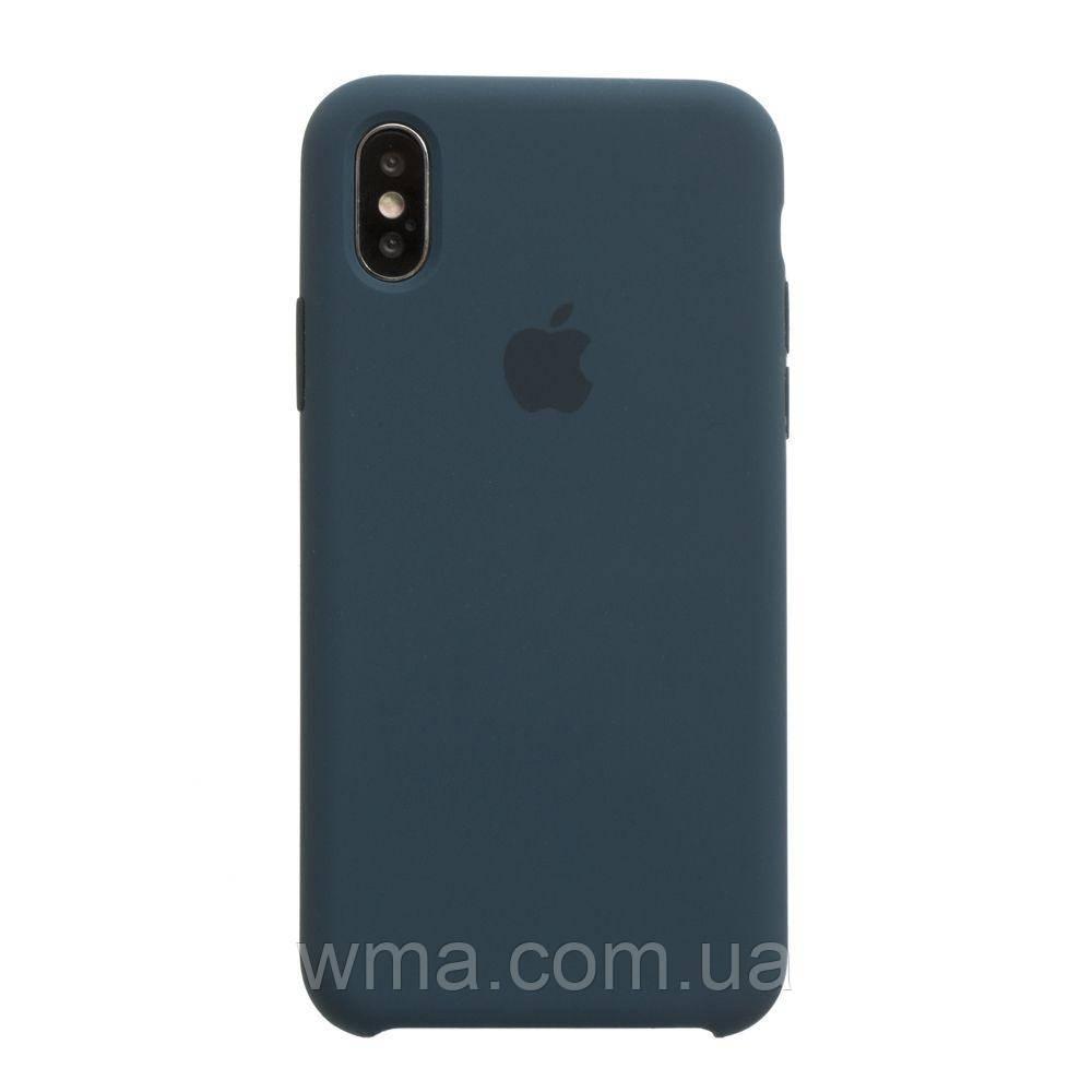 Чехол Original Iphone X Цвет Cosmos Blue