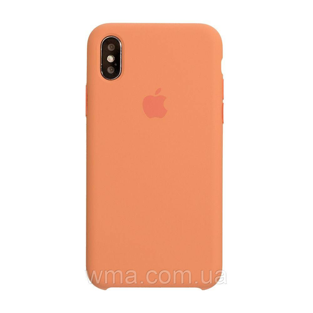 Чехол Original Iphone X Цвет Peach